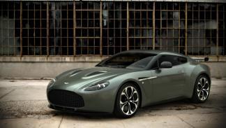 Aston Martin Zagato V12 frontal