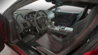 Aston Martin Zagato V12 interior