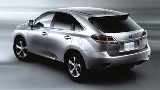 primeras imágenes nuevo Lexus RX 2012 trasera Salón de Ginebra