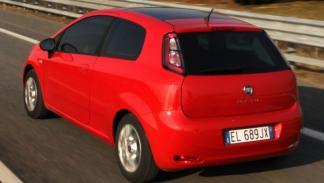 Nuevo Fiat Punto 2012 Trasera