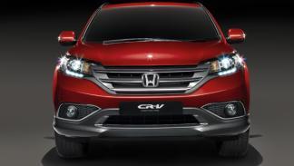 prototipo del Honda CR-V 2012 frontal