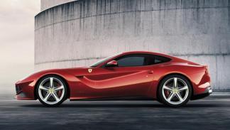 Ferrari F12berlinetta perfil - Salón de Ginebra 2012
