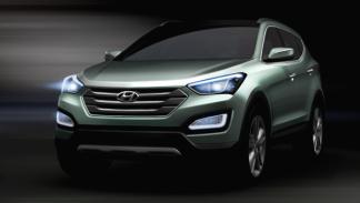 Hyundai Santa Fe 2012 frontal