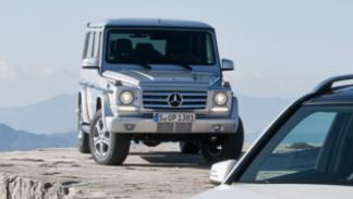 Nuevo Mercedes Clase G 2012 frontal