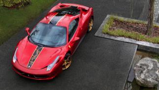 Ferrari 458 Italia para China exterior