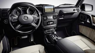 Nuevo Mercedess Clase G 2012 interior