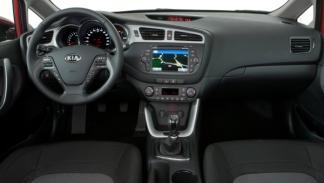 Interior del Kia cee´d 2012