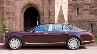 Bentley Mulsanne Diamond Jubilee Limited Edition perfil