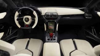 Interior del Lamborghini Urus