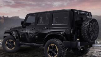 Jeep Wrangler Dragon Concept trasera