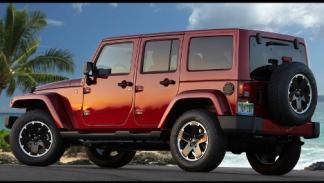 Jeep Wrangler Unlimited Altitude trasera