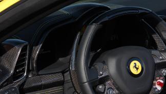 Novitec ferrari 458 spider interior