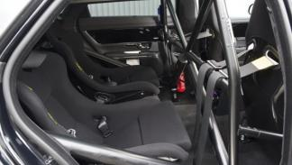Jaguar 'Nürburgring taxi' asientos traseros