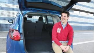 Probador sorpresa Mazda CX-5 maletero