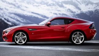 BMW Zagato Coupé perfil