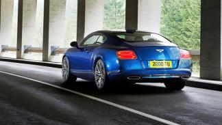 Bentley Continental GT Speed coupé trasera