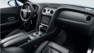 Interior Bentley Continental GT Speed coupé