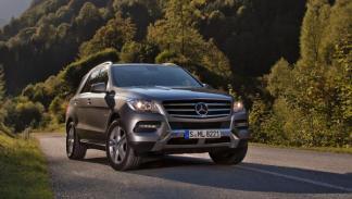 Mercedes ML 500 4MATIC BlueEFFICIENCY frontal