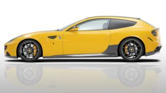 Ferrari FF NOVITEC ROSSO perfil