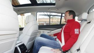 Test BMW 535d xDrive Gran Turismo asientos