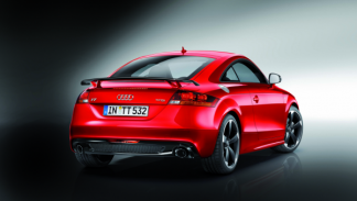 Audi TT Coupé S line competition trasera