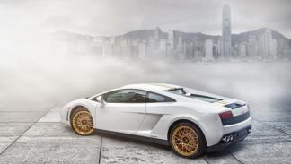 Lamborghini Gallardo LP550-2 HK 20th Anniversary Edition trasera