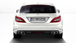 Mercedes CLS AMG Shooting Brake trasera