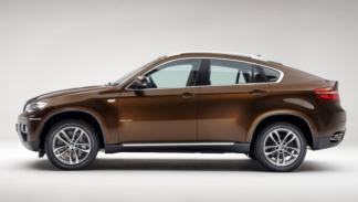 BMW X4M, perfil