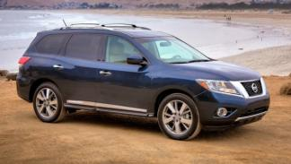 Nissan Pathfinder, lateral