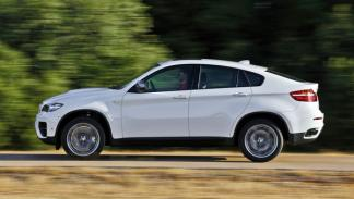 BMW X6 M50d, lateral