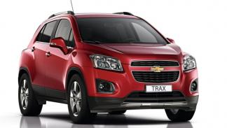 Chevrolet Trax, frontal
