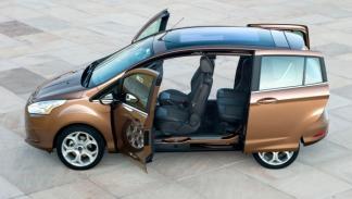 Lateral del Ford B-Max