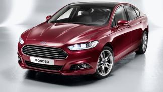 Frontal del Ford Mondeo 2013
