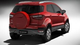 Ford EcoSport, trasera