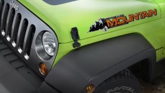 Jeep Wrangler Mountain, logo