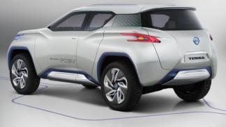 Nissan Terra SUV Concept, trasera