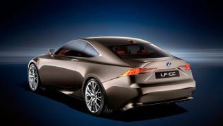 Lexus LF-CC París mecánica