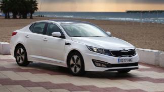 Kia Optima Hybrid potencia