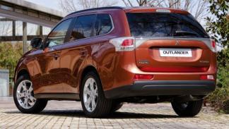 Nuevo Mitsubishi Outlander, trasera