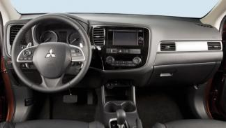 Nuevo Mitsubishi Outlander, interior