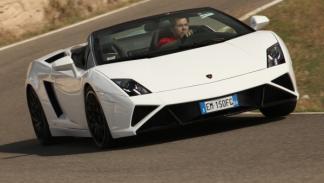 Nuevo Lamborghini Gallardo Spyder 2013 curva