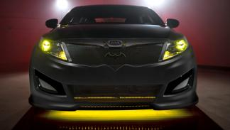 kia optima batman frontal