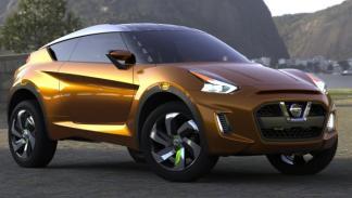 Delantera del Nissan Extrem