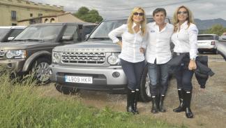 Carmen Lomana, Pedro Delgado y Normal Duval