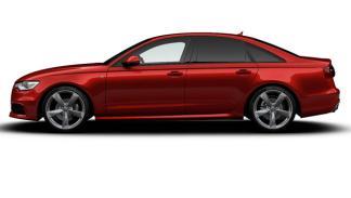 Audi A6 Black Edition llantas