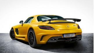 Mercedes SLS AMG Black Series trasera