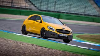 Mercedes Clase A 45 AMG tracción integral doble embrague
