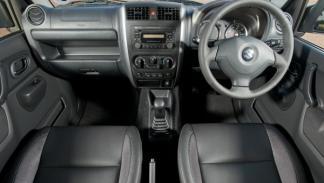 Restyling Suzuki Jimny 2013, interior