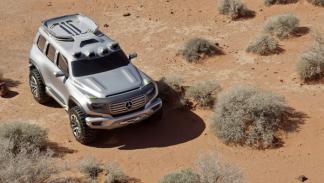 Mercedes Ener-G-Force vista techo