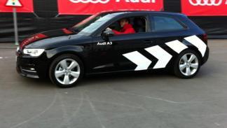 Iniesta ejercicio Audi A3 Entrega audi jugadores barcelona temporada 2012/2013